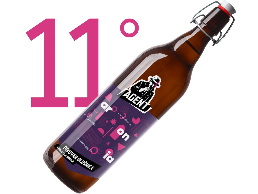 Aronia Session Ale 11° 1L