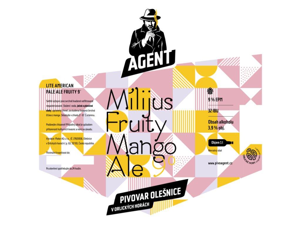 9 Mílijus Mango