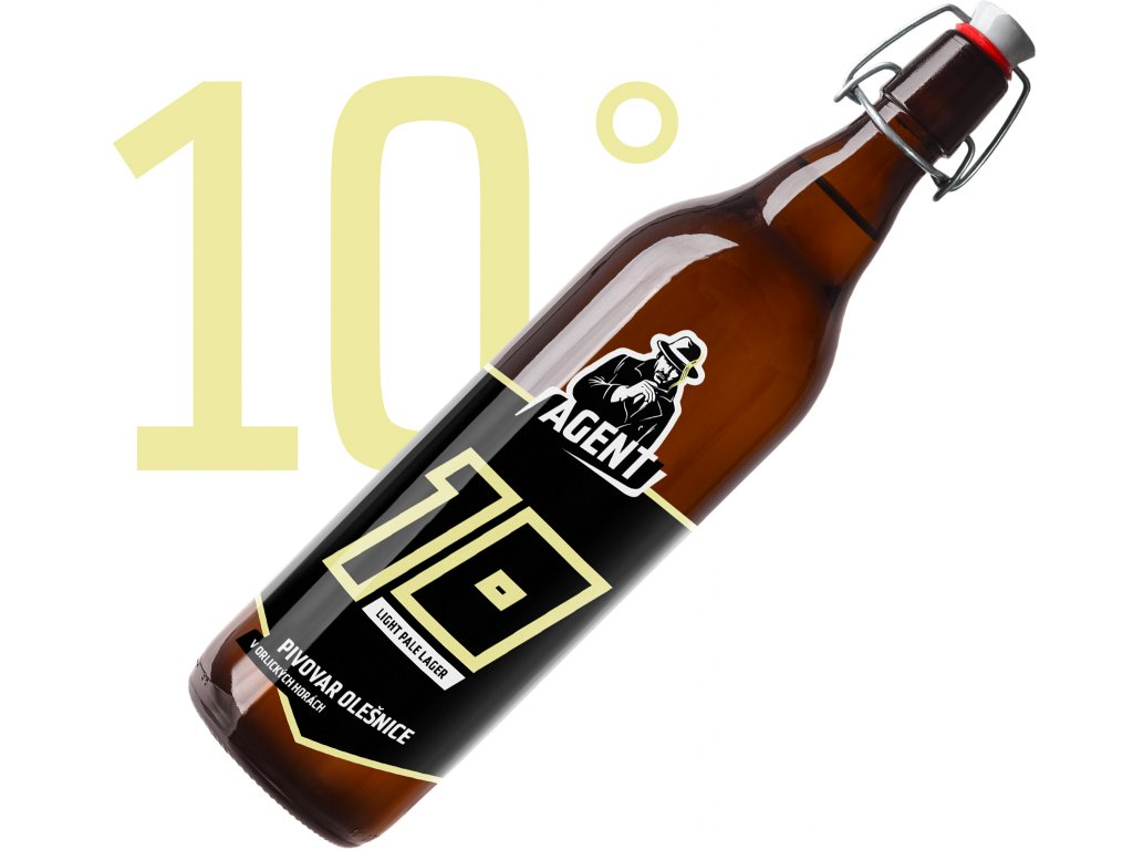 Světlé výčepní pivo 10° 1L